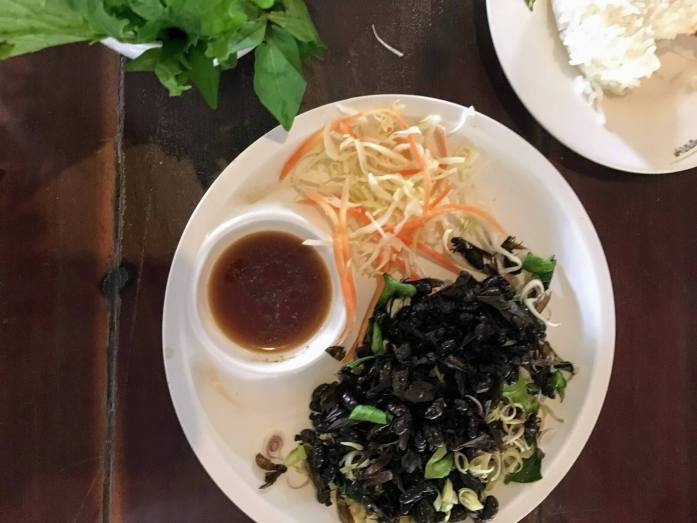 flying ants, one of the best foods in bangkok