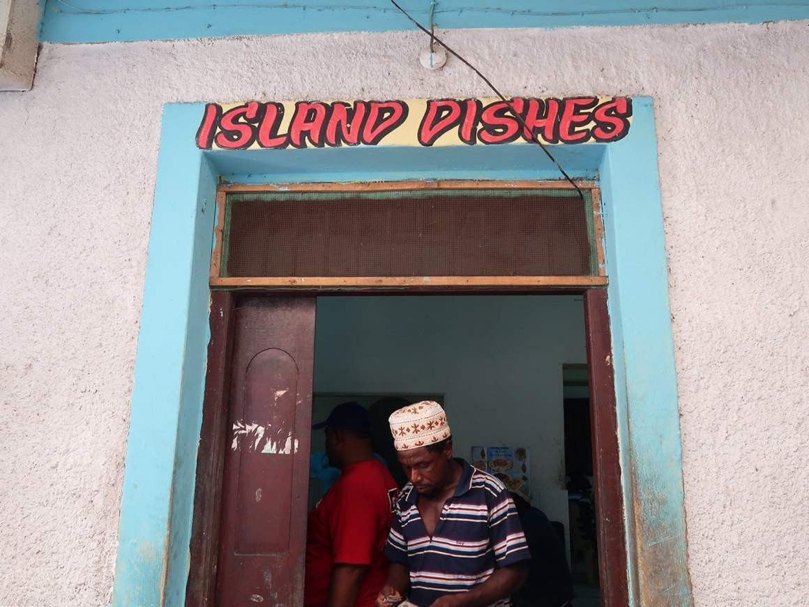 Eating at Island Dishes is a thing to do in Lamu