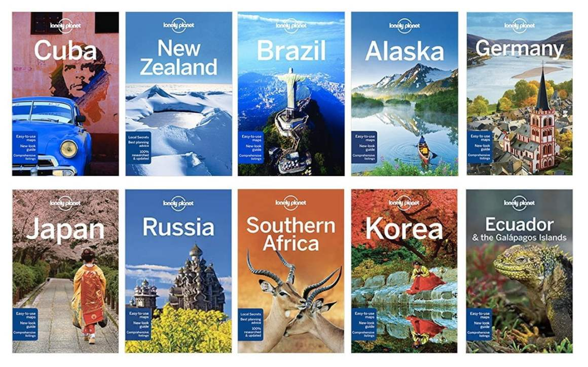 lonely planet guides make great last minute gift ideas for travelers