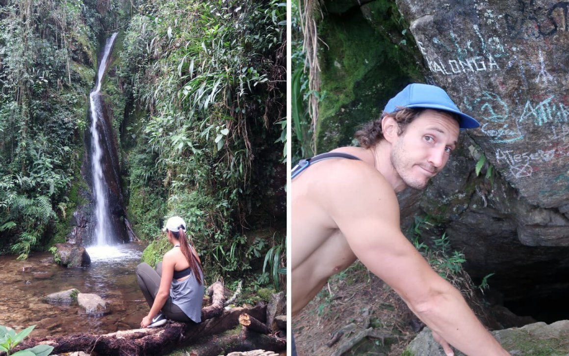 Hiking in Medellin Las Cuevas del Higueron