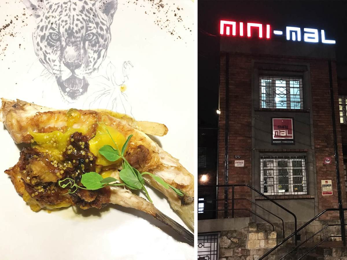 24 hours in bogota mini mal restaurant