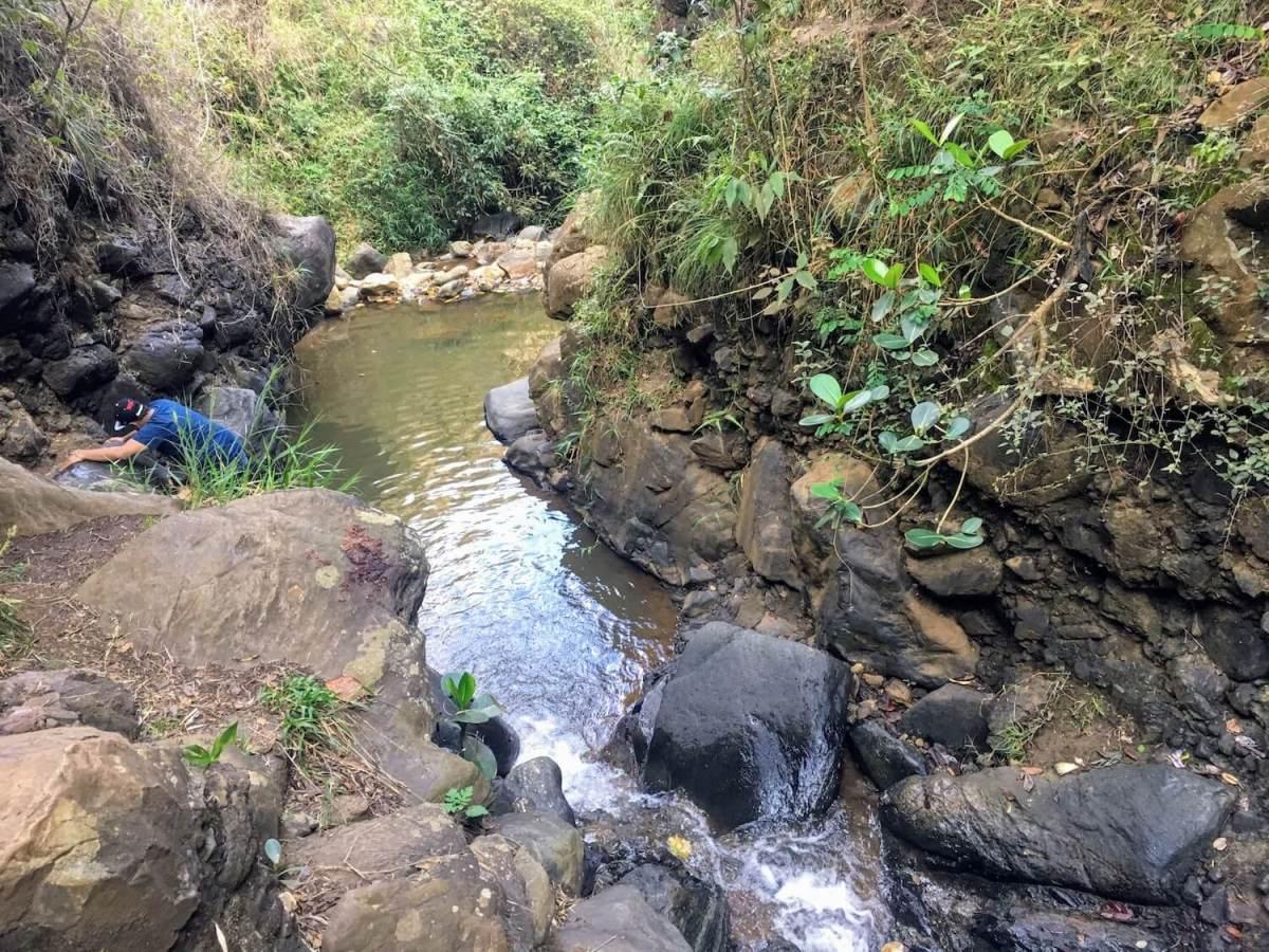 Swimming area along Cerro Quitasol Hike