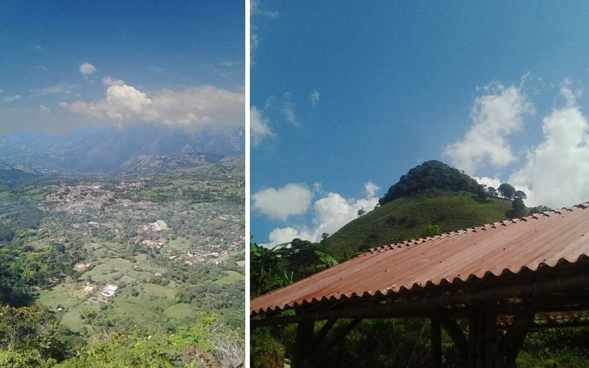 Venecia Aerial View Cerro Cardona Antioquia