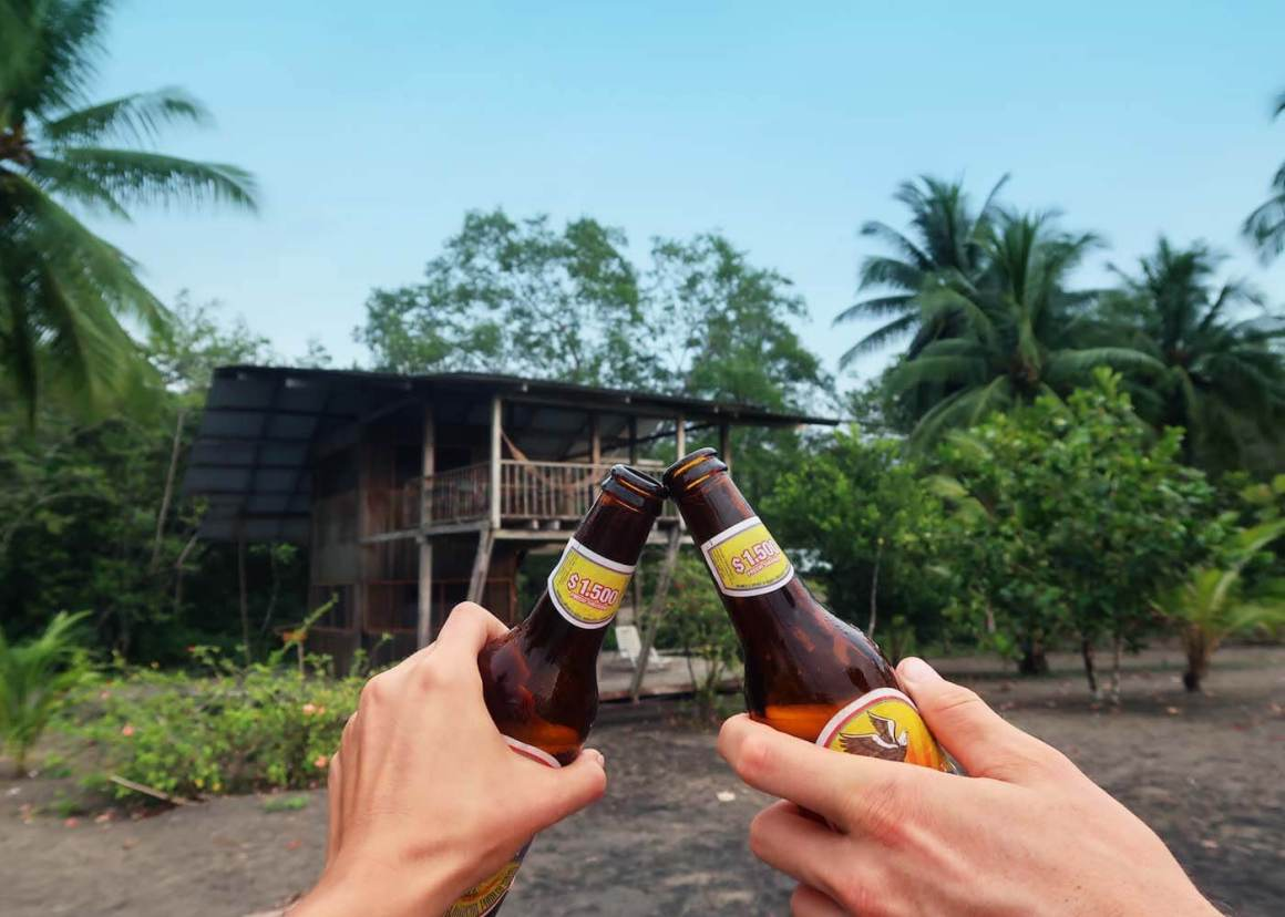 Wherever you stay, enjoying a cold beverage tops the list of things to do in Bahia Solano