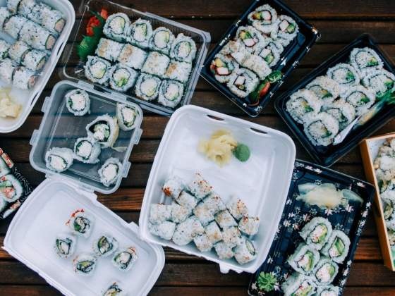 sushi assortment taste test vancouvers best california roll