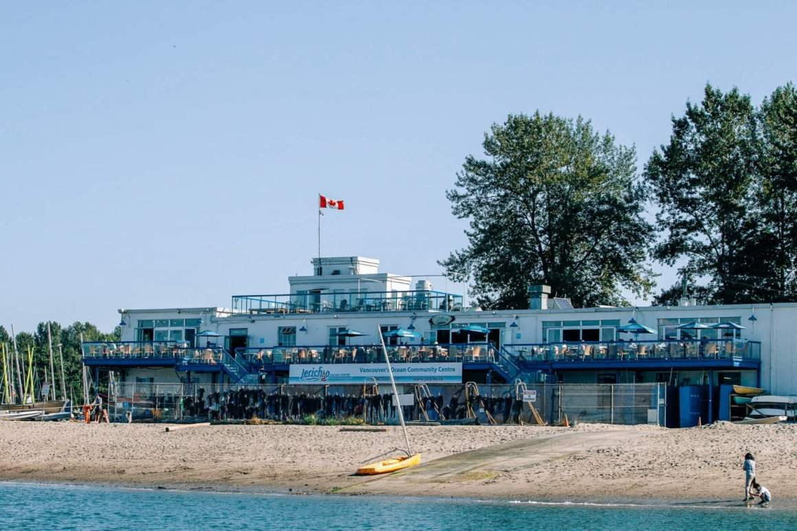jericho sailing centre at jericho beach in vancouver