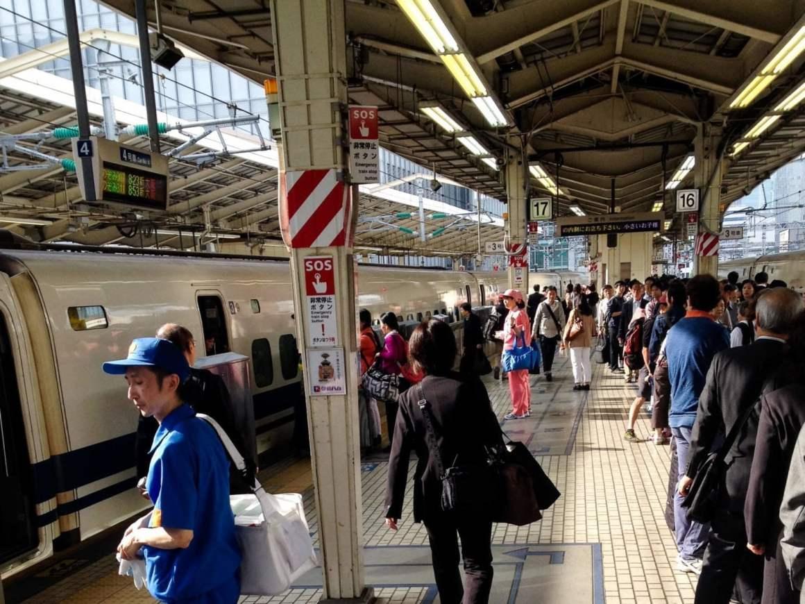 jr train station saijo sake festival