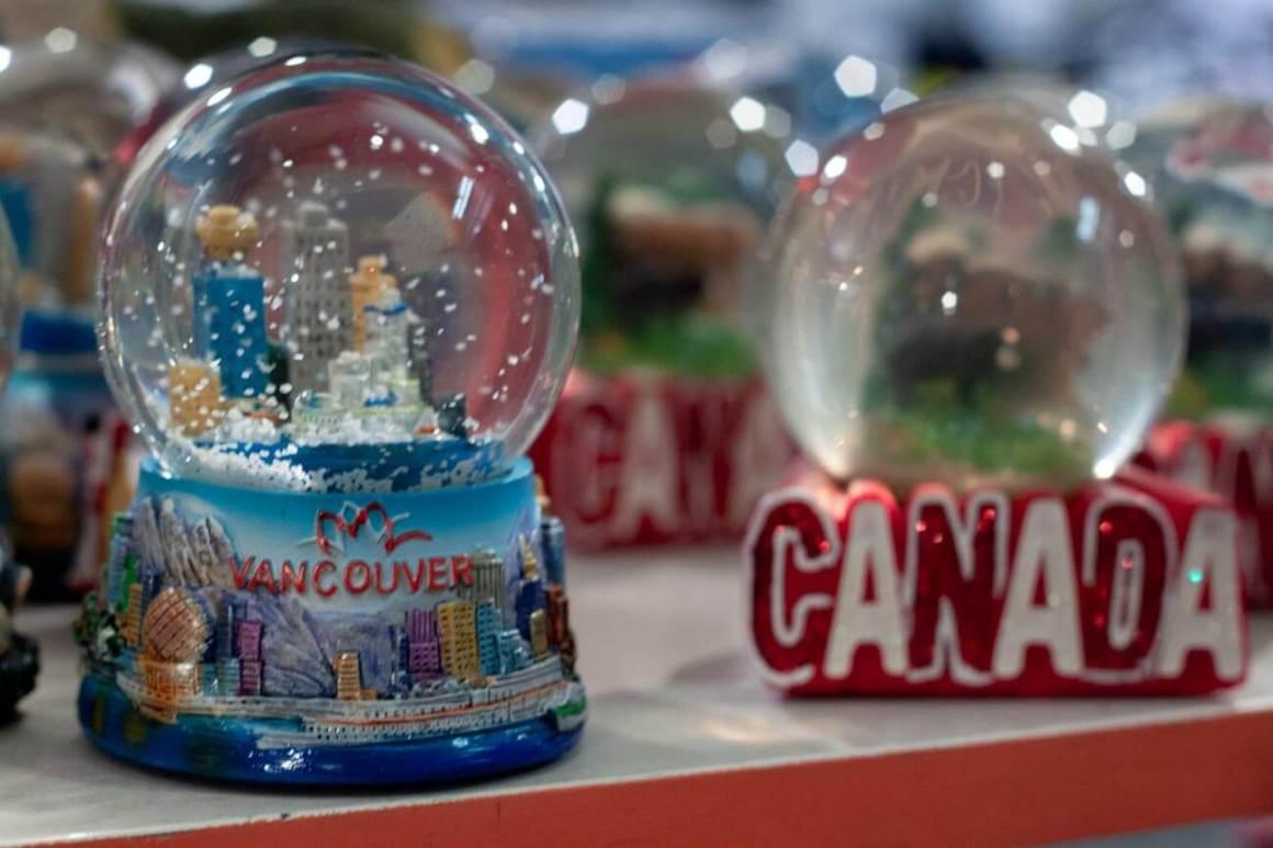 Vancouver snow globe