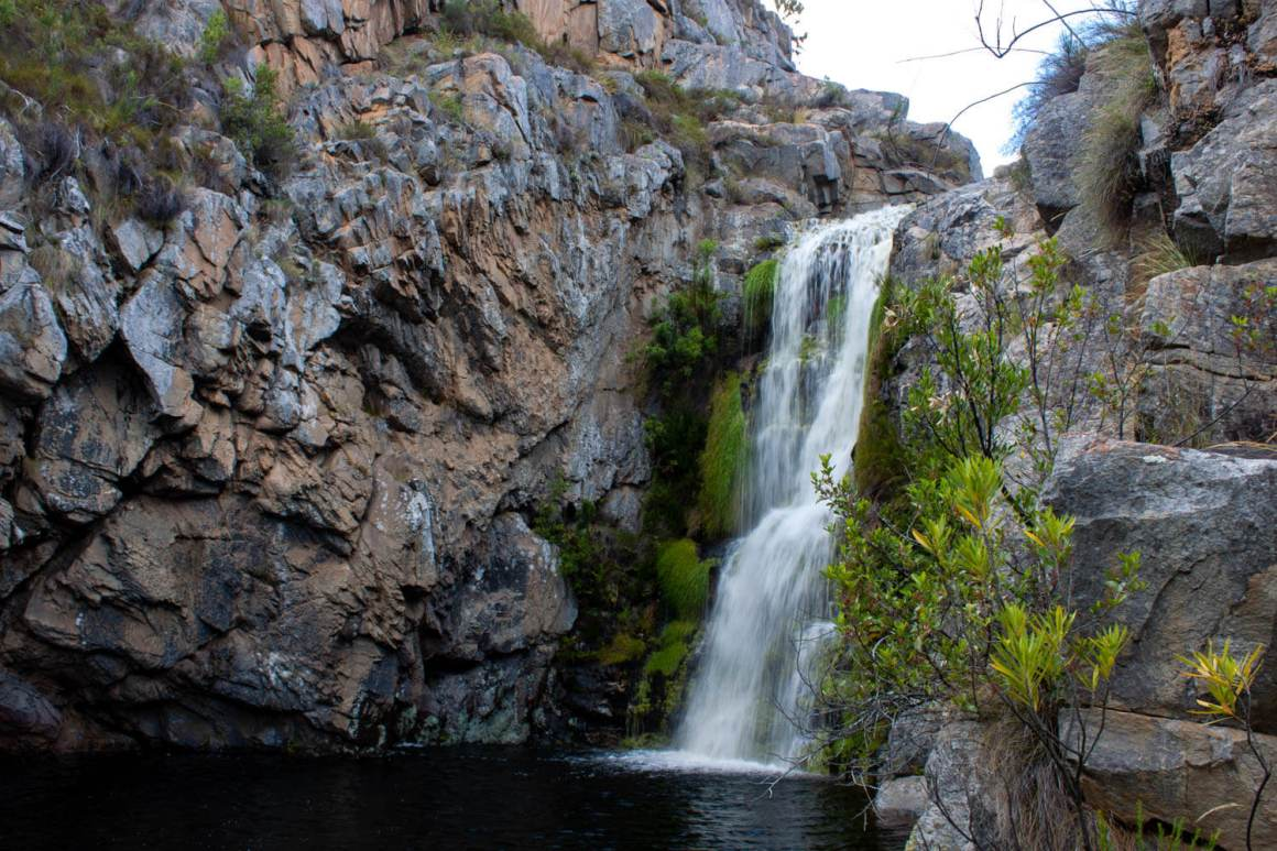 Barrydale waterfall