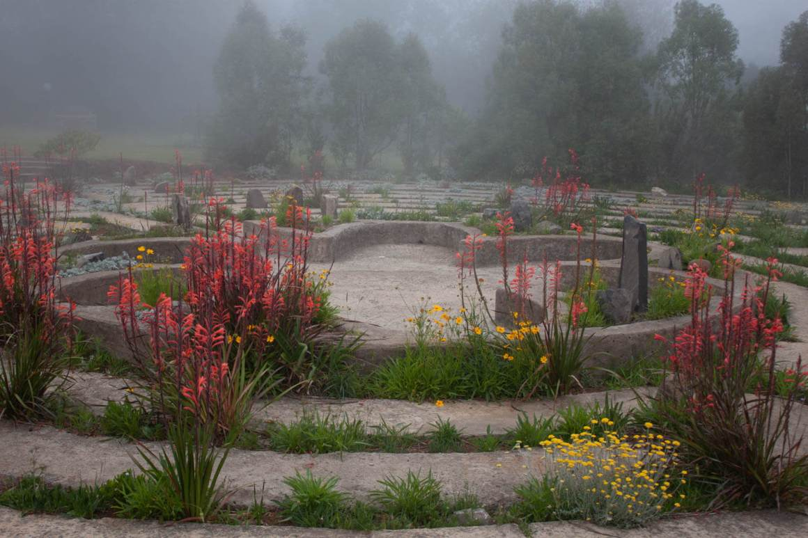 The Labyrinth at the Edge in Hogsback