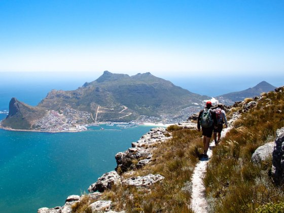 Best travel blogs cover image of people hiking in South Africa