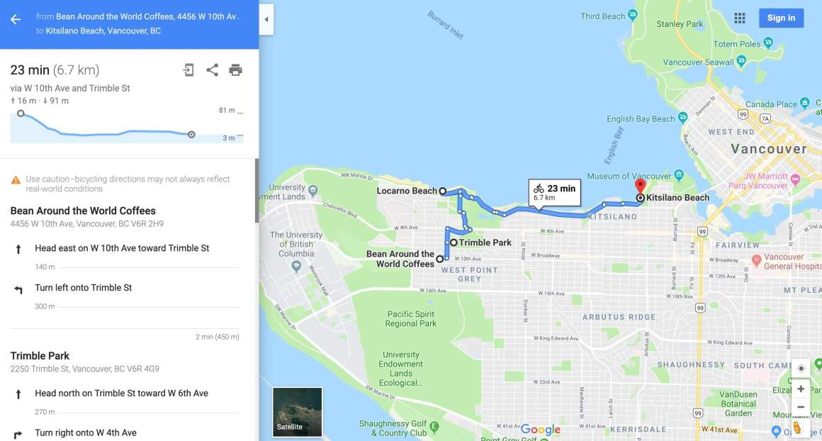 Option 1: Custom Google Maps directions with less control