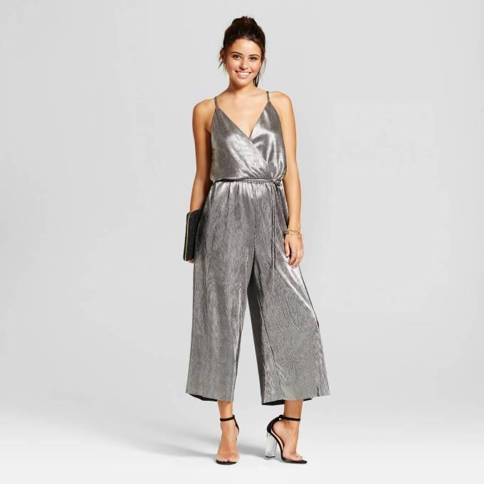 Silver Jumpsuit Target