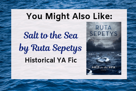 Salt to the Sea read alike pin for The Warrior Maiden