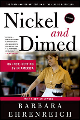 Nickel and Dime by Barbara Ehrenreich Book Cover