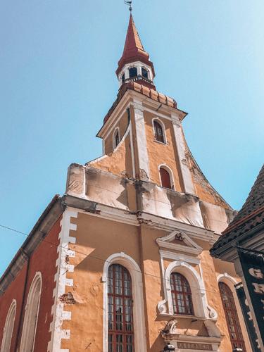 Saint Elizabeth's Church in Pärnu Estonia