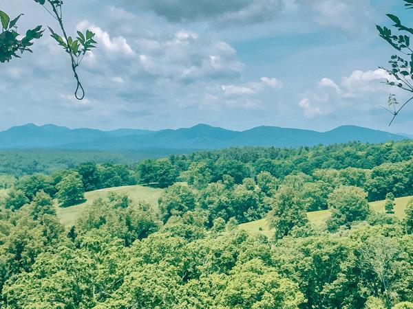 Moving to Asheville, North Carolina Blue Ridge Mountains