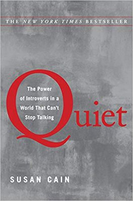 Nonfiction Books To Make You Think Quiet by Susan Cain