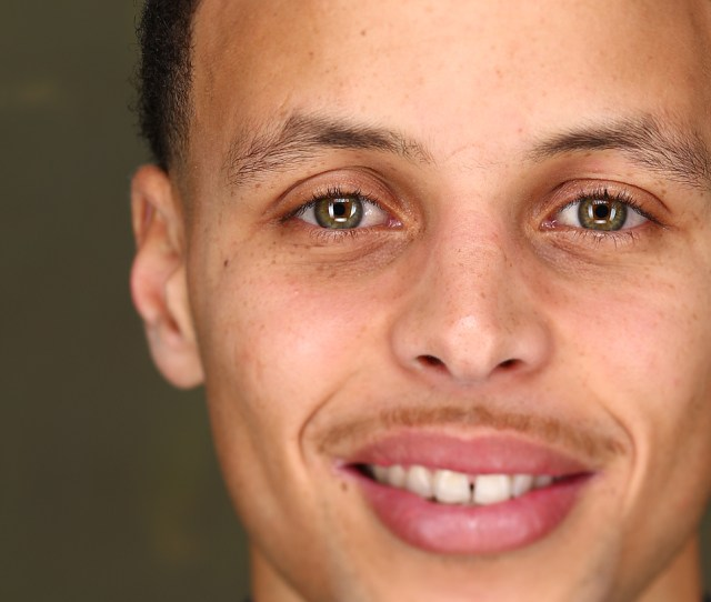 Stephen Curry Of The Golden State Warriors Poses For Portraits As Part Of 2015 All