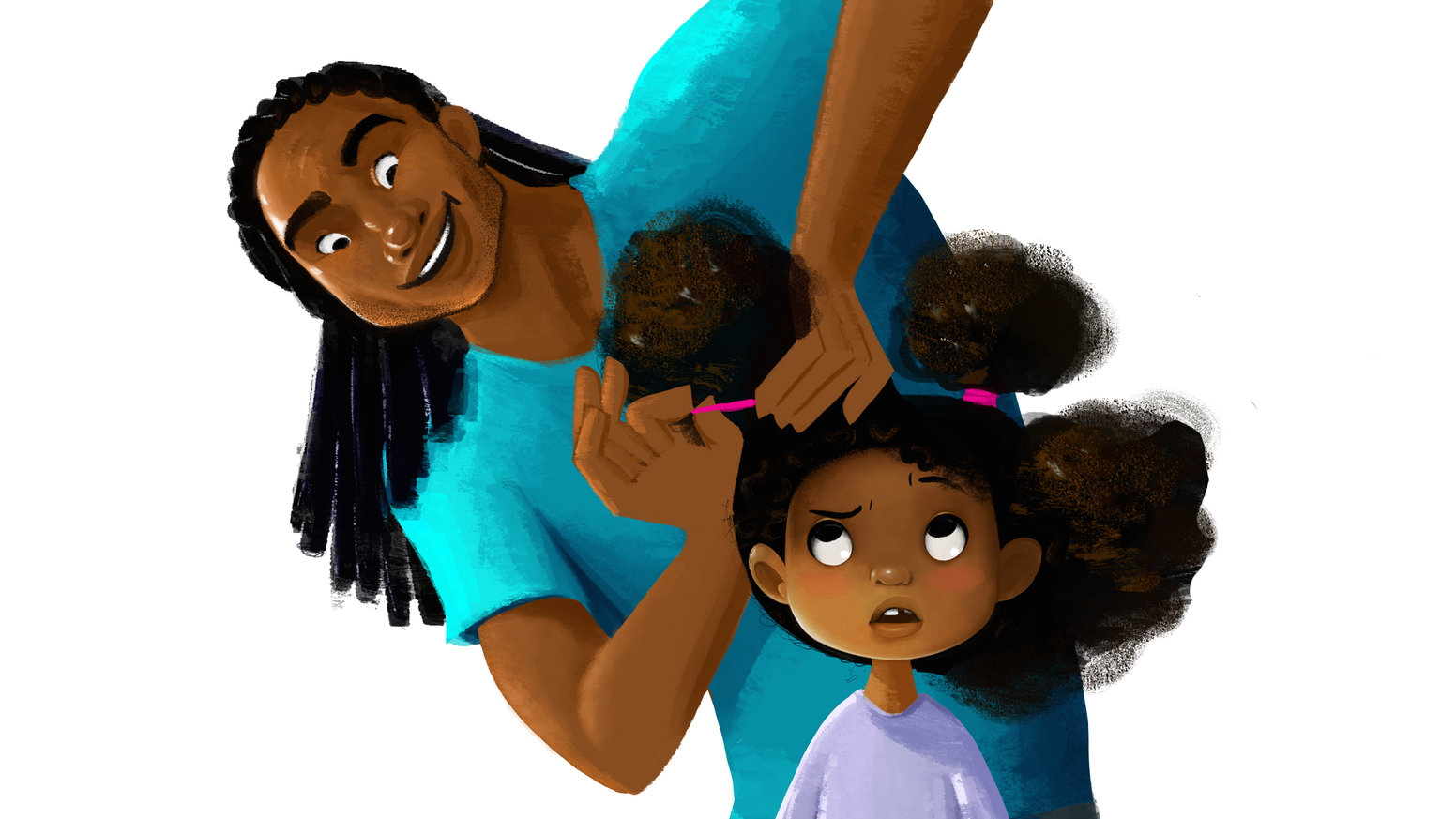 Animated Short Hair Love Show Bond