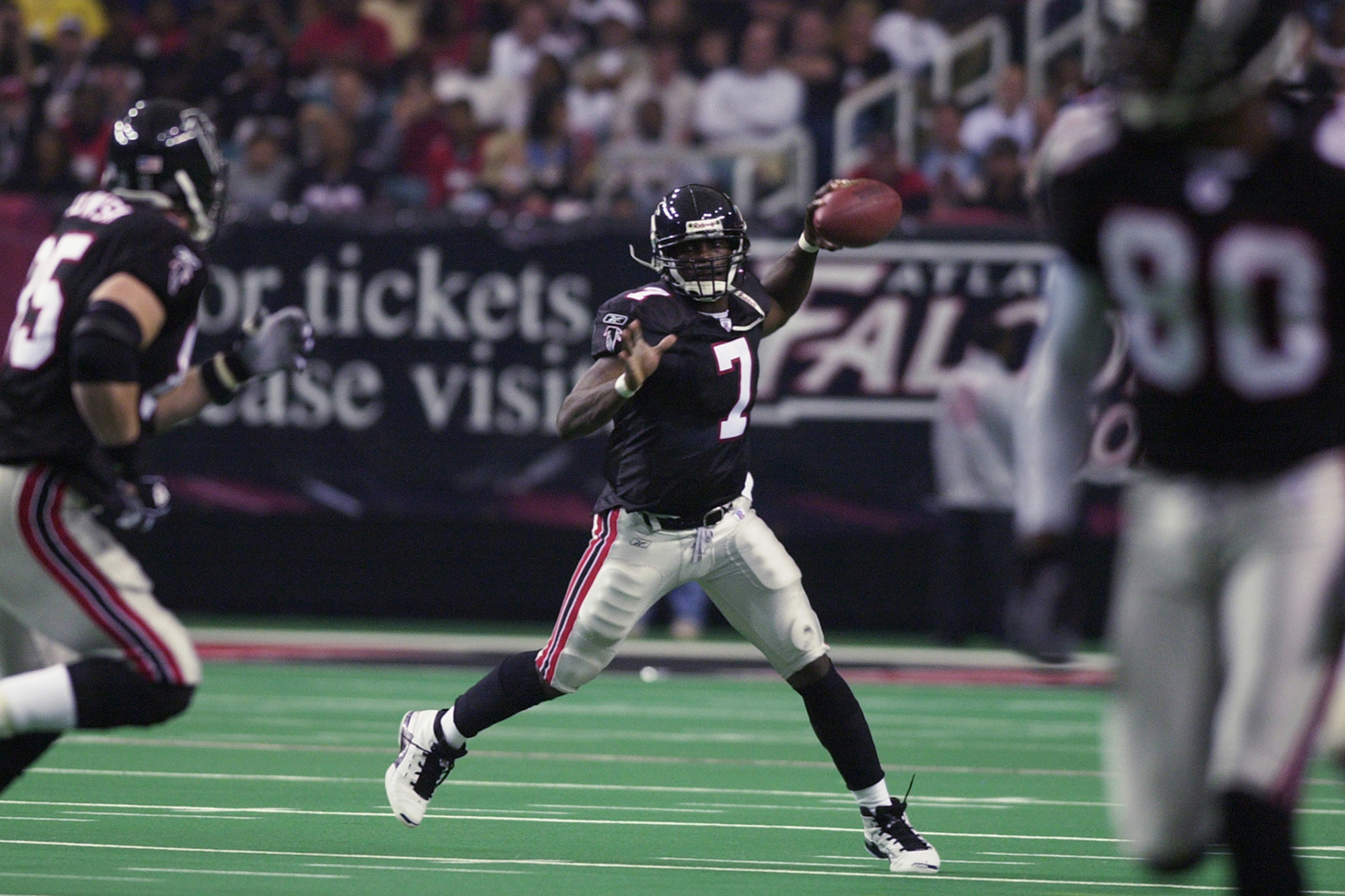 On the way to his Nike Zoom Vick 1s Michael Vick sent Air