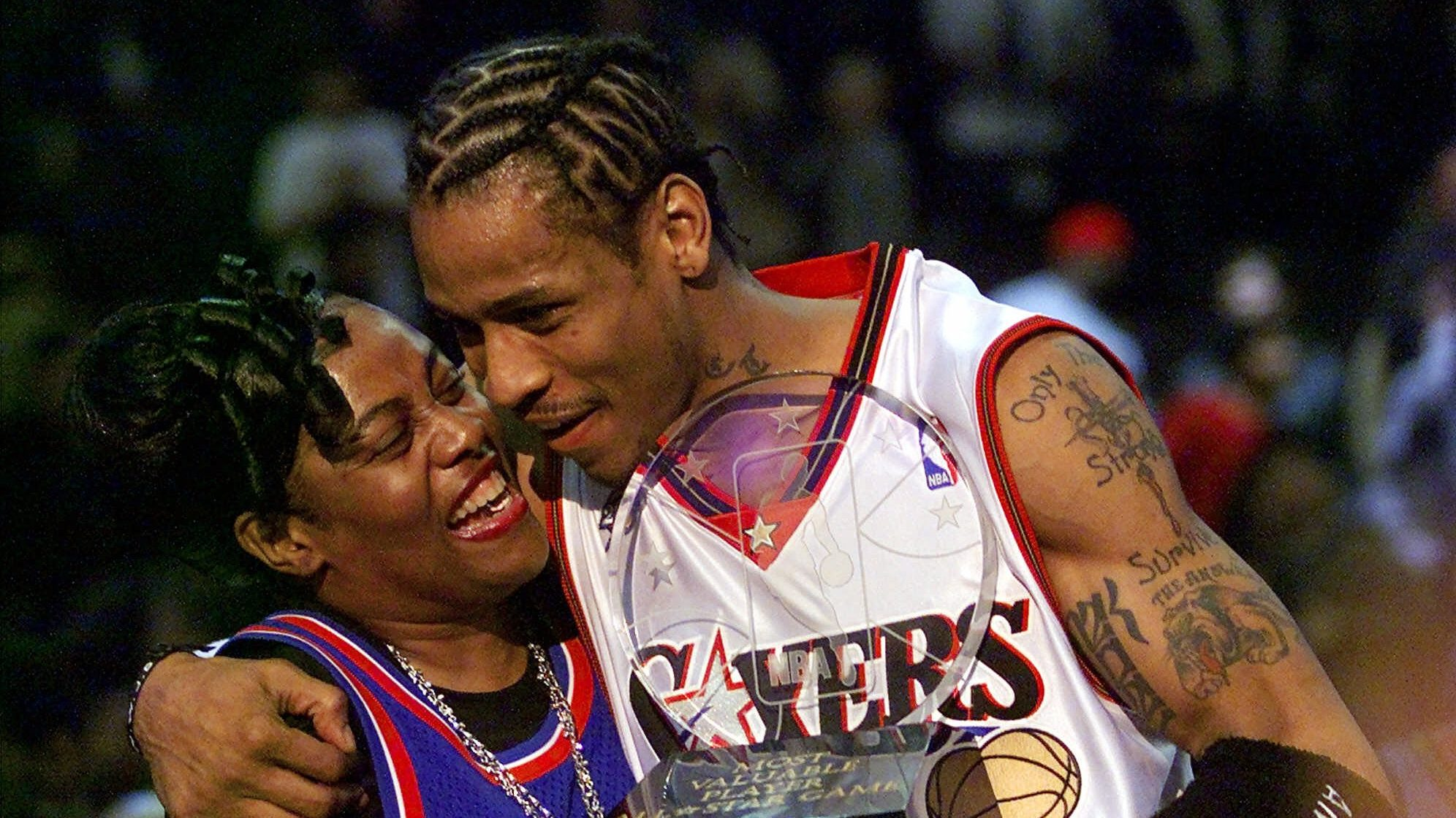Being Ann Iverson I knew Allen Iverson was going to the