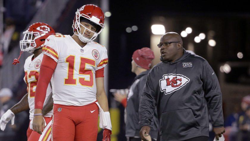 Chiefs' Eric Bieniemy will just have to wait