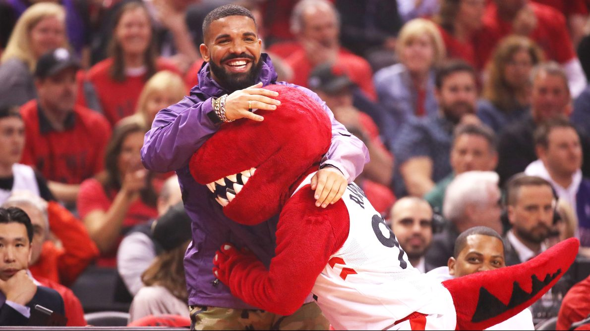 Raptors superfan Drake is the NBA's biggest celebrity playoff antagonist —  and he won't stop anytime soon