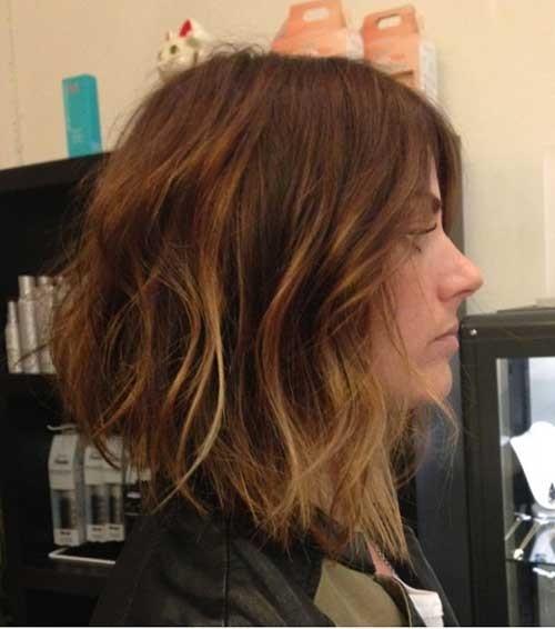 Balayage Inverted Bob Haircut
