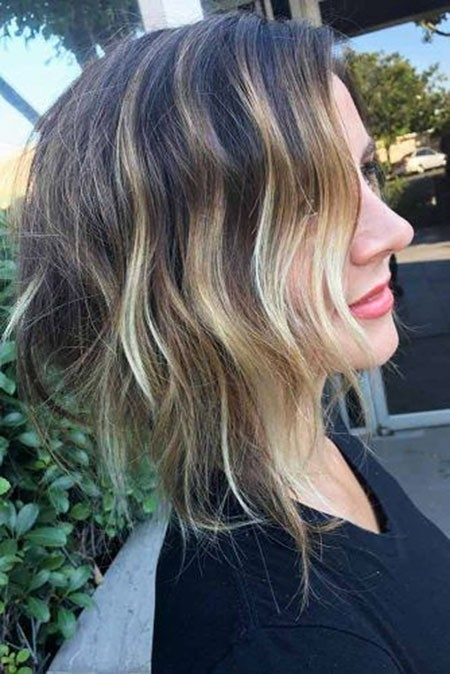 Beautiful-Ombre Short Trendy Hairstyles 2018