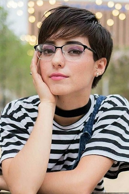 Beautiful-Pixie-Haircut New Cute Hairstyles for Short Hair
