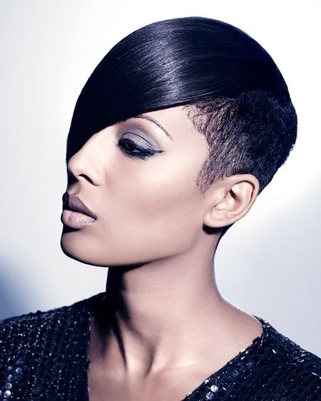 Black-Women-Short-Hairtyles New Short African Haircuts for Ladies