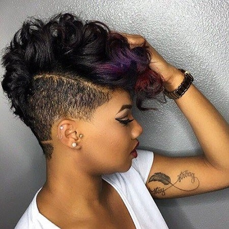 Blod-look-Short-Haircuts-for-Black-Women Best Hairstyles for Black Women 2018