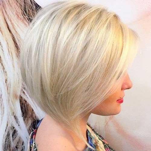Blonde-Bob-Thin-Hair Blonde Short Hair Ideas for Ladies