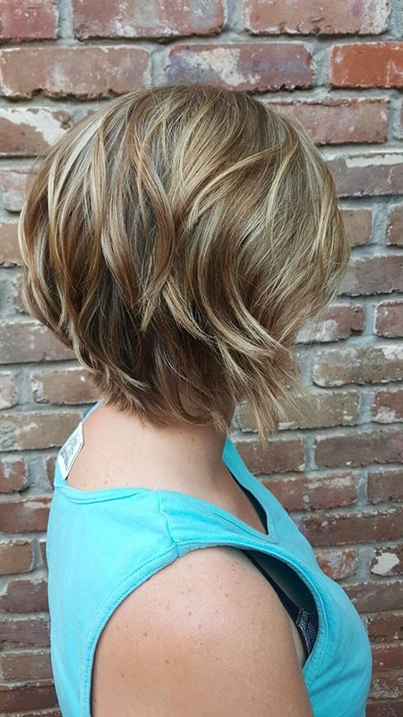 Blonde-Hair-Color-1 New Short Layered Hairstyles 2018