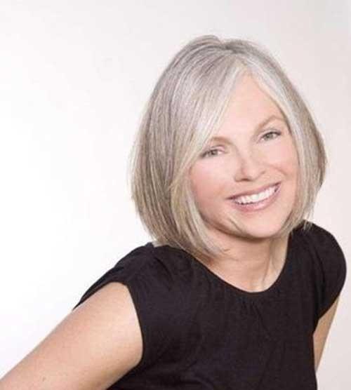 Bob-Hair-Style-for-Older-Women Short Haircuts for Older Women 2018-2019