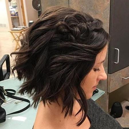 Braided-Wavy-Hair-1 Easy Braids for Short Hair