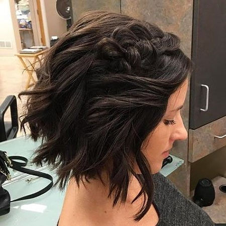 Braided-Wavy-Hair-1 Easy Braids for Short Hair