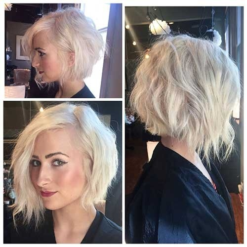 Choppy-Layered-Inverted-Bob-Haircut Inverted Bob Haircuts