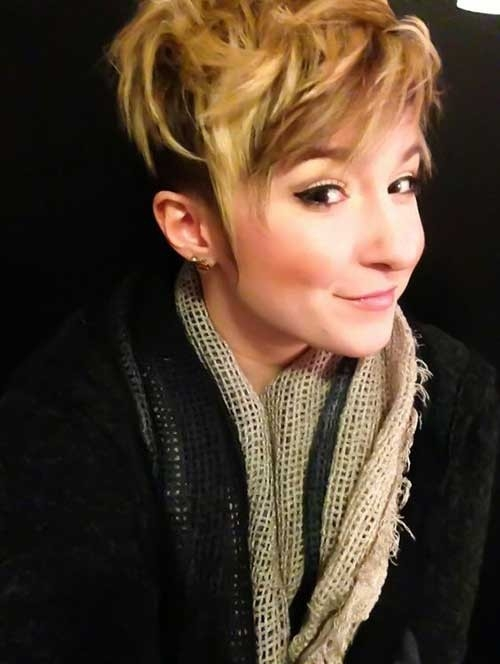 Cute-Blonde-Pixie Cute Girls Choice: Short Haircuts