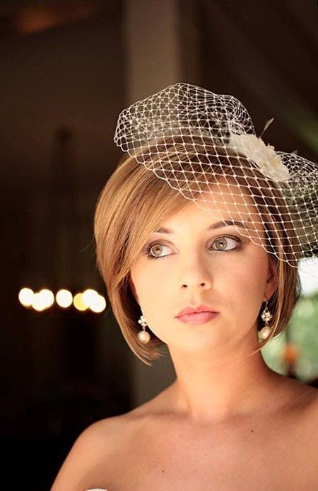 Cute-Bob-Hair-1 Wedding Hairstyles for Short Hair