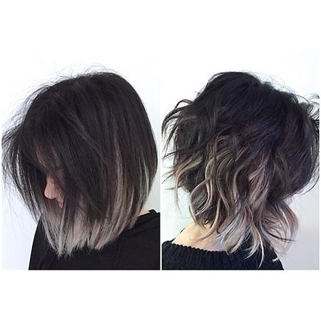 Ombre Hairstyles For Short Hair The Undercut