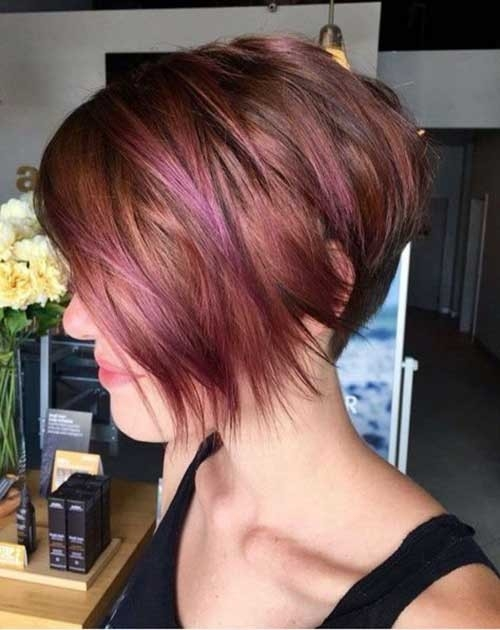 Cute-Short-Bob-Hairstyle Cute Girls Choice: Short Haircuts