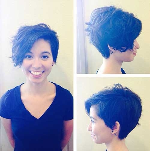 Funky-Short-Haircut Cute Girls Choice: Short Haircuts