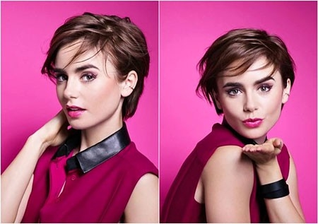 Lancome-Juicy-Shaker-Matte Short Trendy Hairstyles 2018