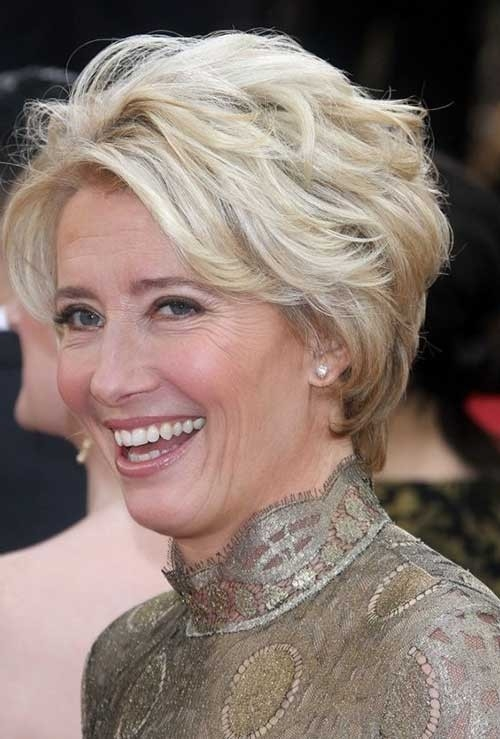 Layered-Longer-Pixie Best Short Haircuts for Older Women