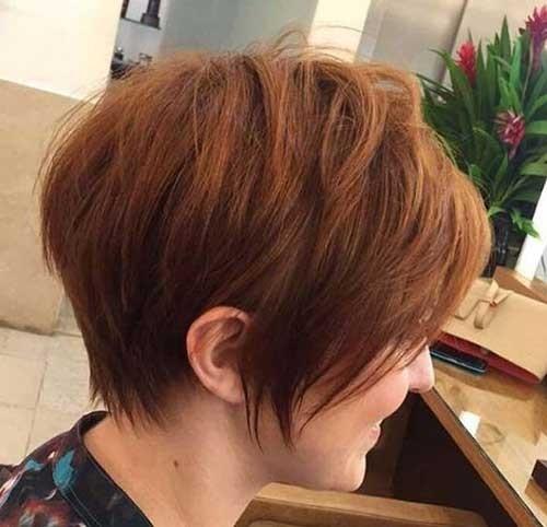 Layered-Short-Bob-Haircut Splendid Layered Short Haircuts for Ladies