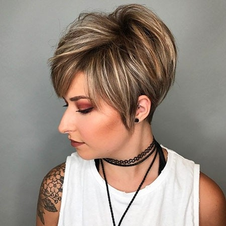 Layered-Short-Hair-1 New Short Layered Hairstyles 2018