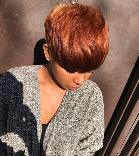 Layered-Short-Hair Best Hairstyles for Black Women 2018