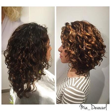 Long-Bob-Curly-Hair Haircuts for Short Curly Hair